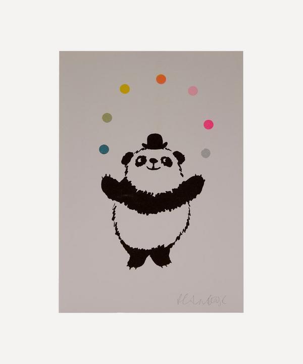 Petra Boase - Panda Risograph Print
