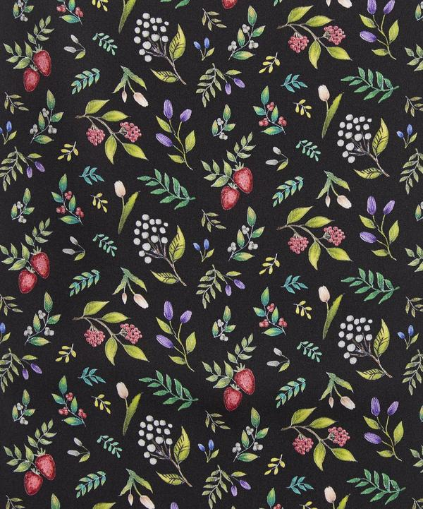 Berry Garden Silk Satin