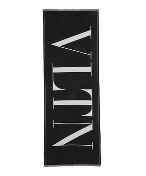 VLTN Oversized Wool Scarf