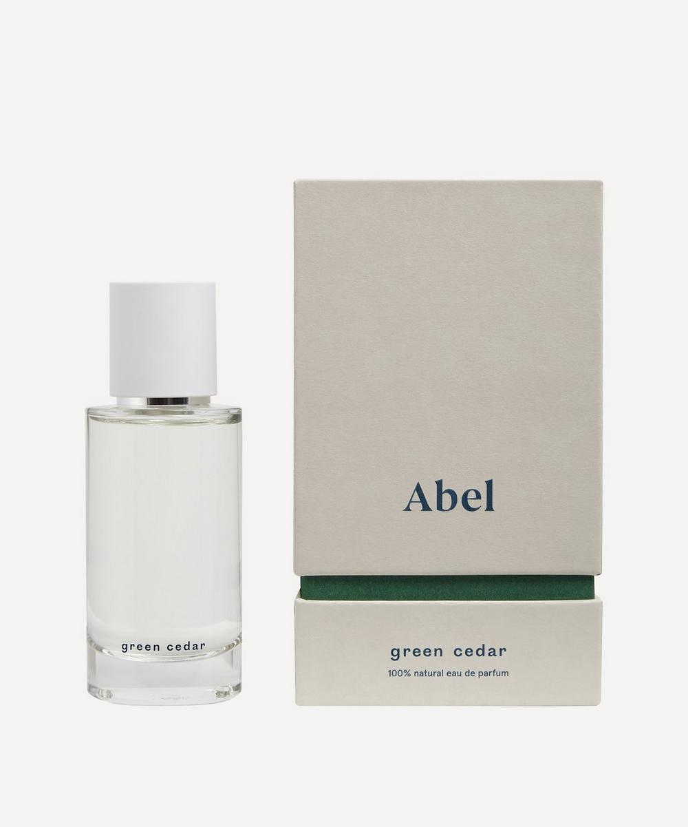 Abel Green Cedar Eau De Parfum 50ml In White