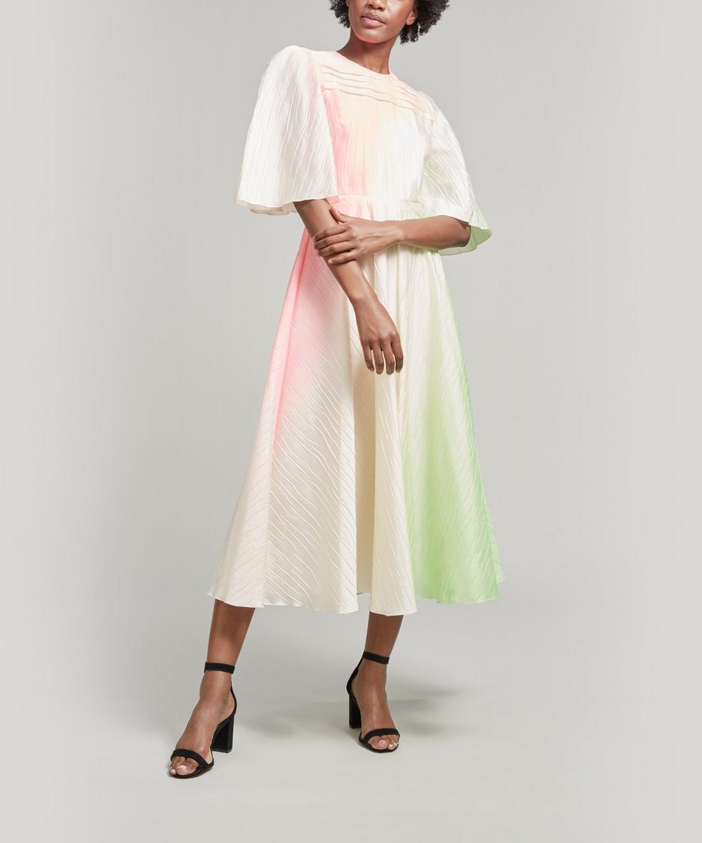 Roksanda Dresses RAEYA CRINKLE TAFFETA MIDI-DRESS