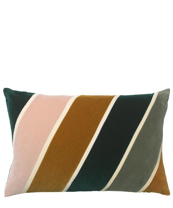 Phoebe Rectangular Cotton Velvet Cushion