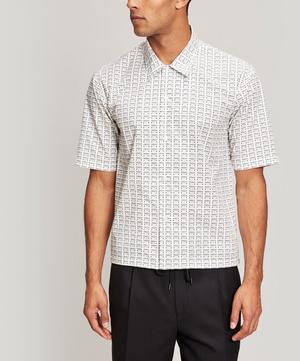All-Over Fragile Print Shirt