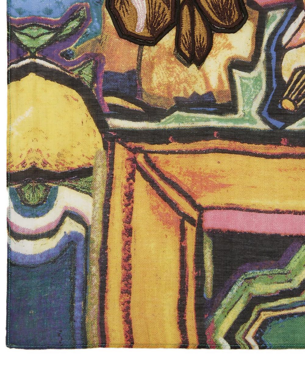 Artist Silk-Blend Scarf