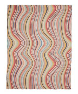 Swirl Silk-Blend Scarf