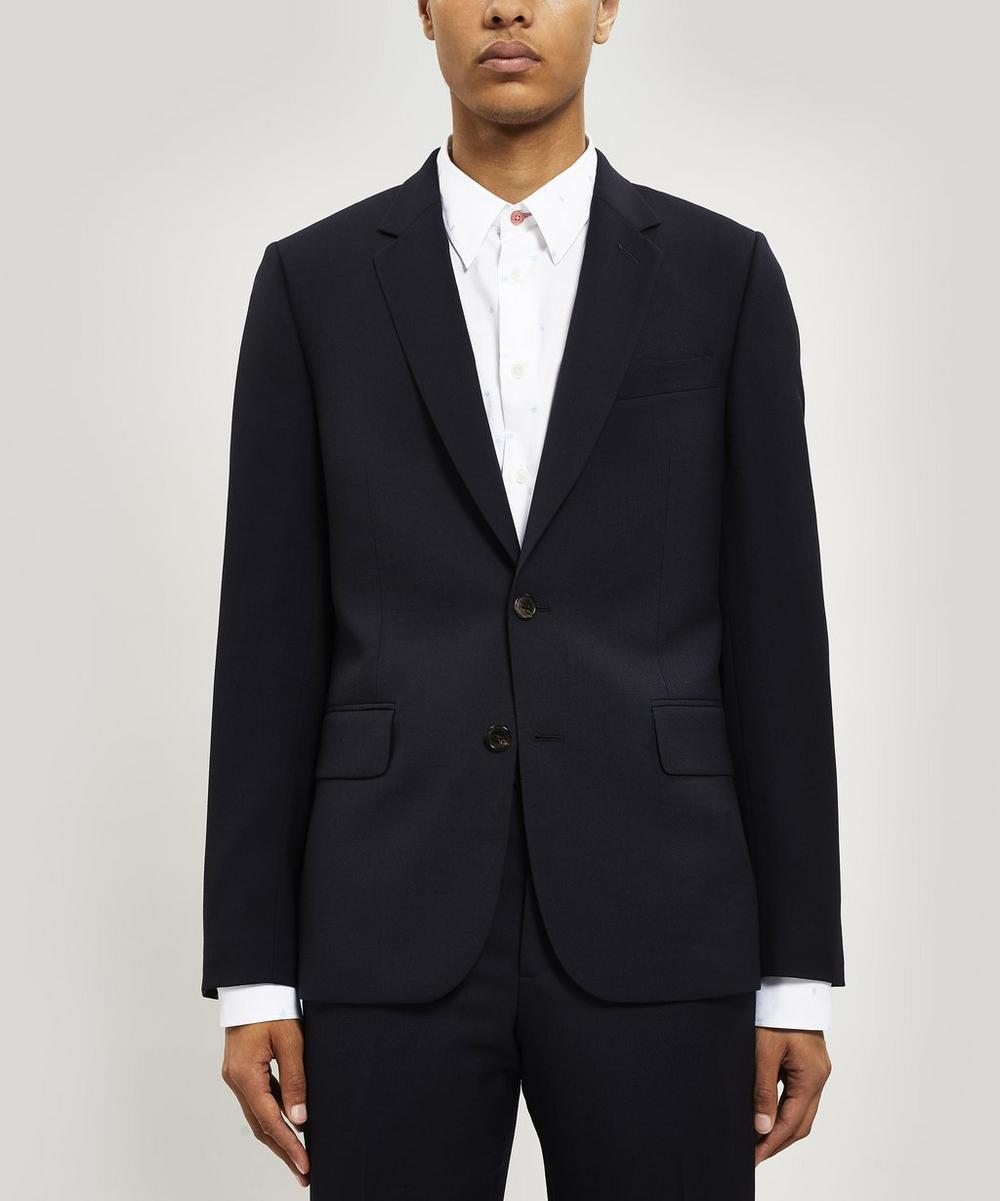 A Suit To Travel In Tailored-Fit Wool Suit