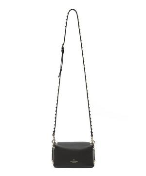 Mini Leather Rockstud Cross-Body Bag