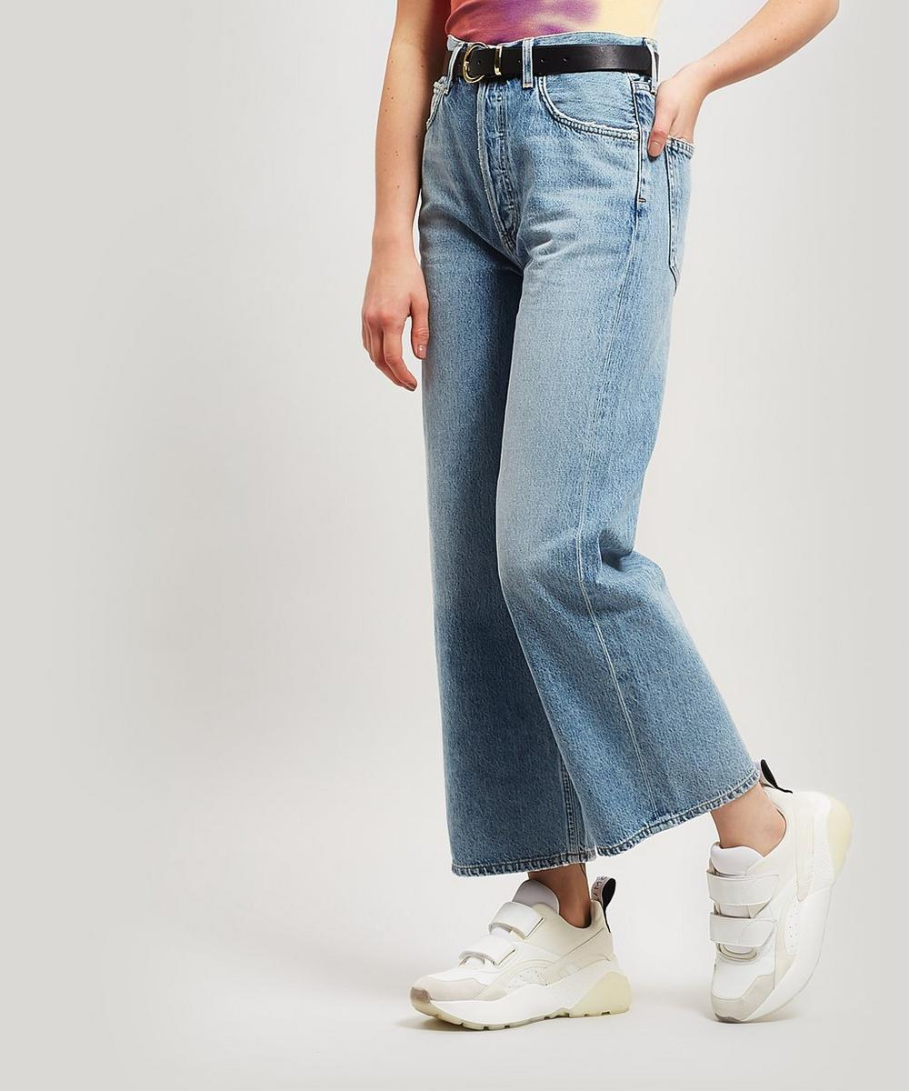 Ren High-Waist Wide-Leg Jeans