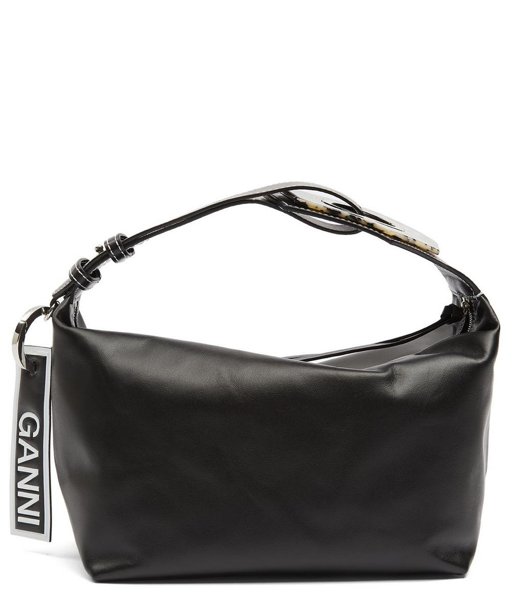 Rectangular Leather Cross-Body Bag