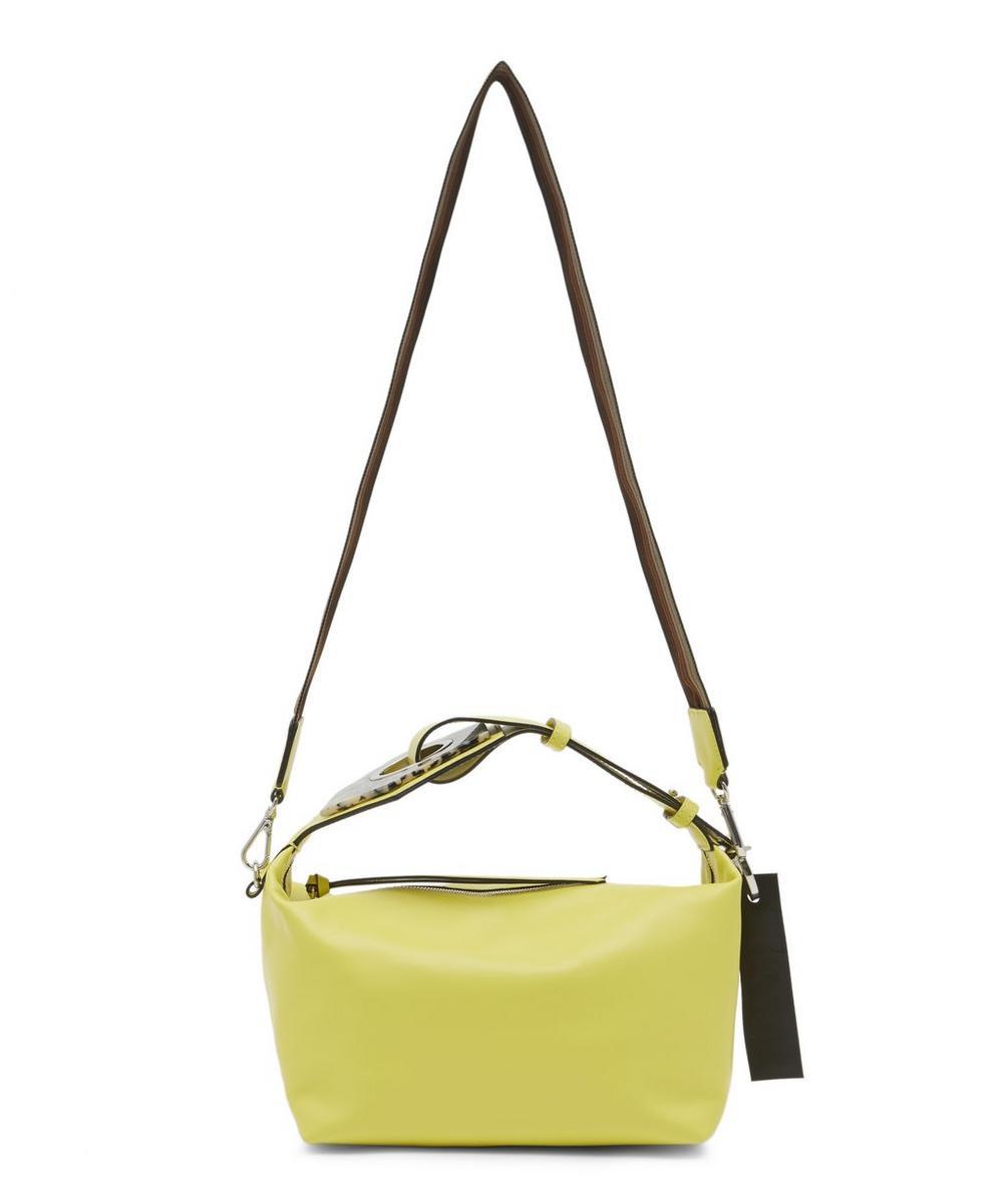 Rectangular Leather Cross-Body Bag
