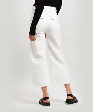 Eva Utility Crop Jeans