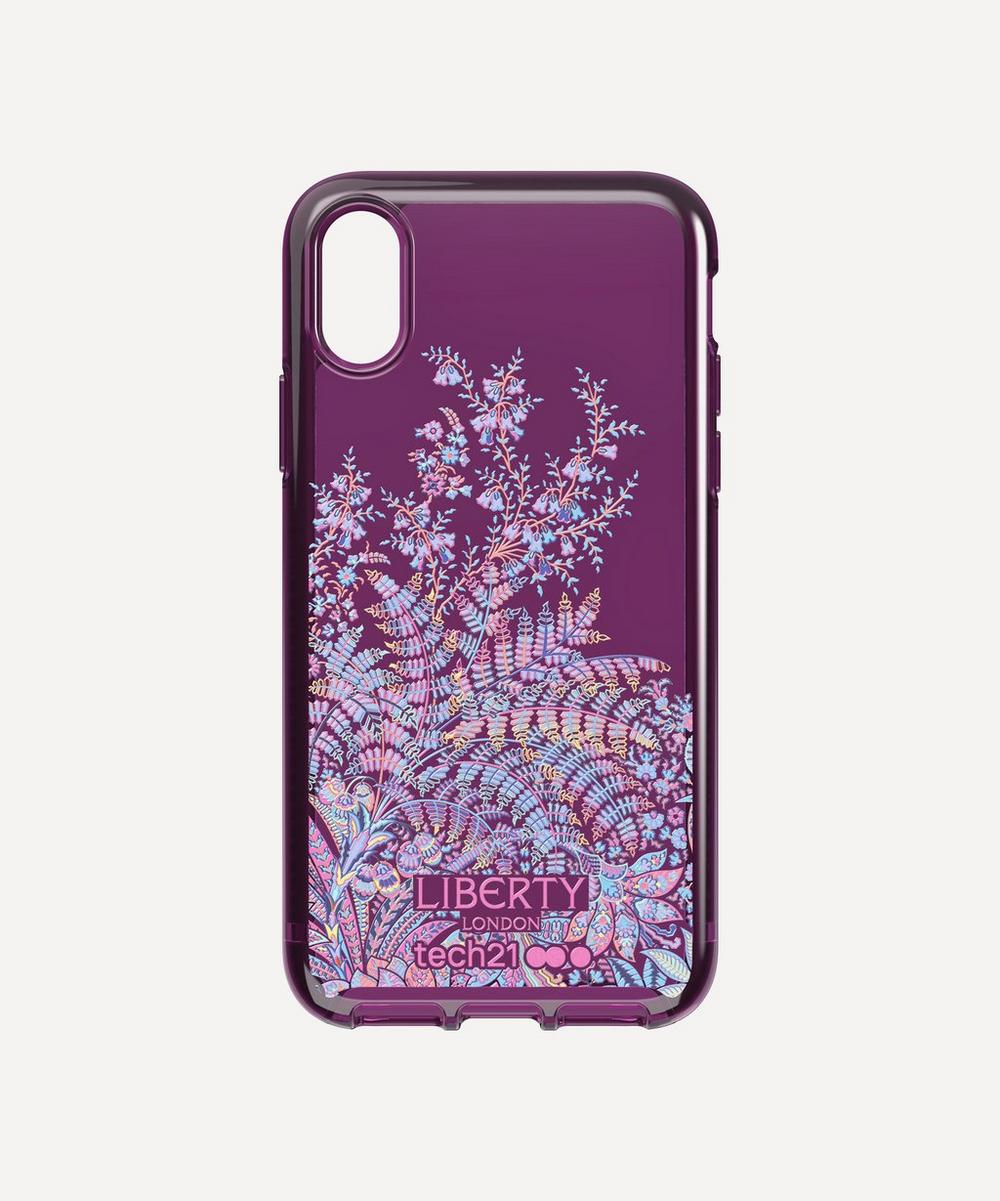 x Tech21 Pure Print Shangri-La iPhone XR Case