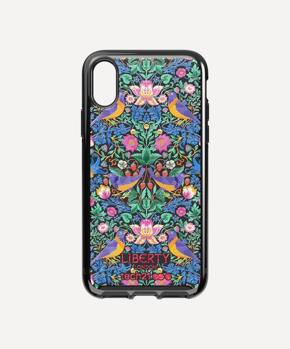 x Tech21 Pure Print Strawberry Thief iPhone XS Max Case
