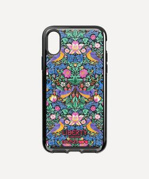 x Tech21 Pure Print Strawberry Thief iPhone X/XS Case