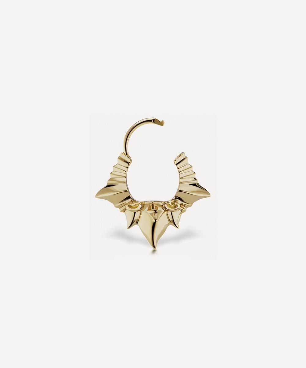 8mm Javanese Spike Hoop Earring