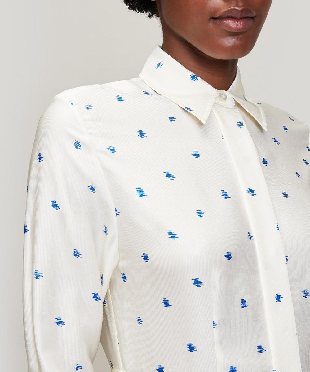 Turner Scribble Spot Print Shirt Dress