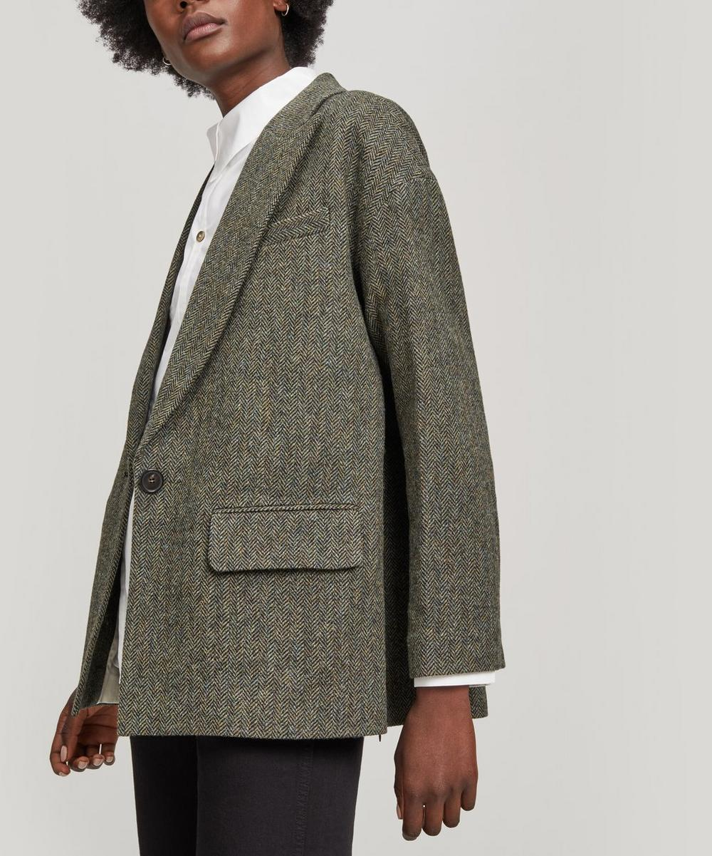 Moore Oversized Wool Jacket
