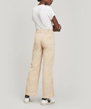 Drake Wide-Leg Corduroy Trousers