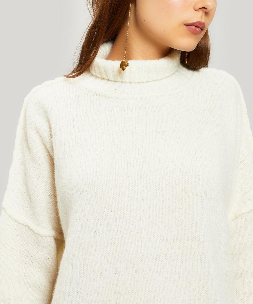 Vega Cashmere-Blend Sweater