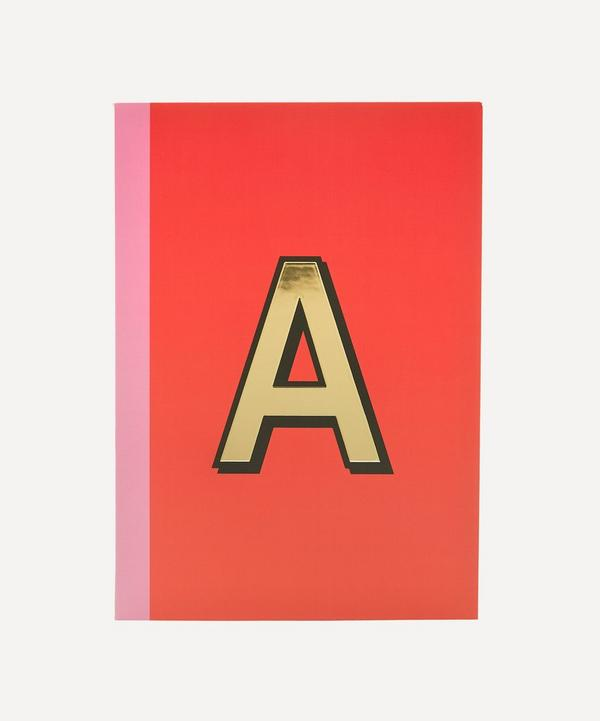 Re: Stationery - Letter 'A' A5 Notebook