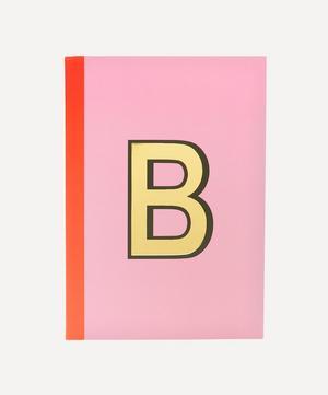 Letter 'B' A5 Notebook