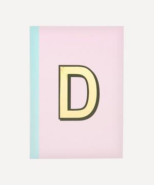 Letter 'D' A5 Notebook