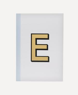 Letter 'E' A5 Notebook