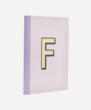 Letter 'F' A5 Notebook