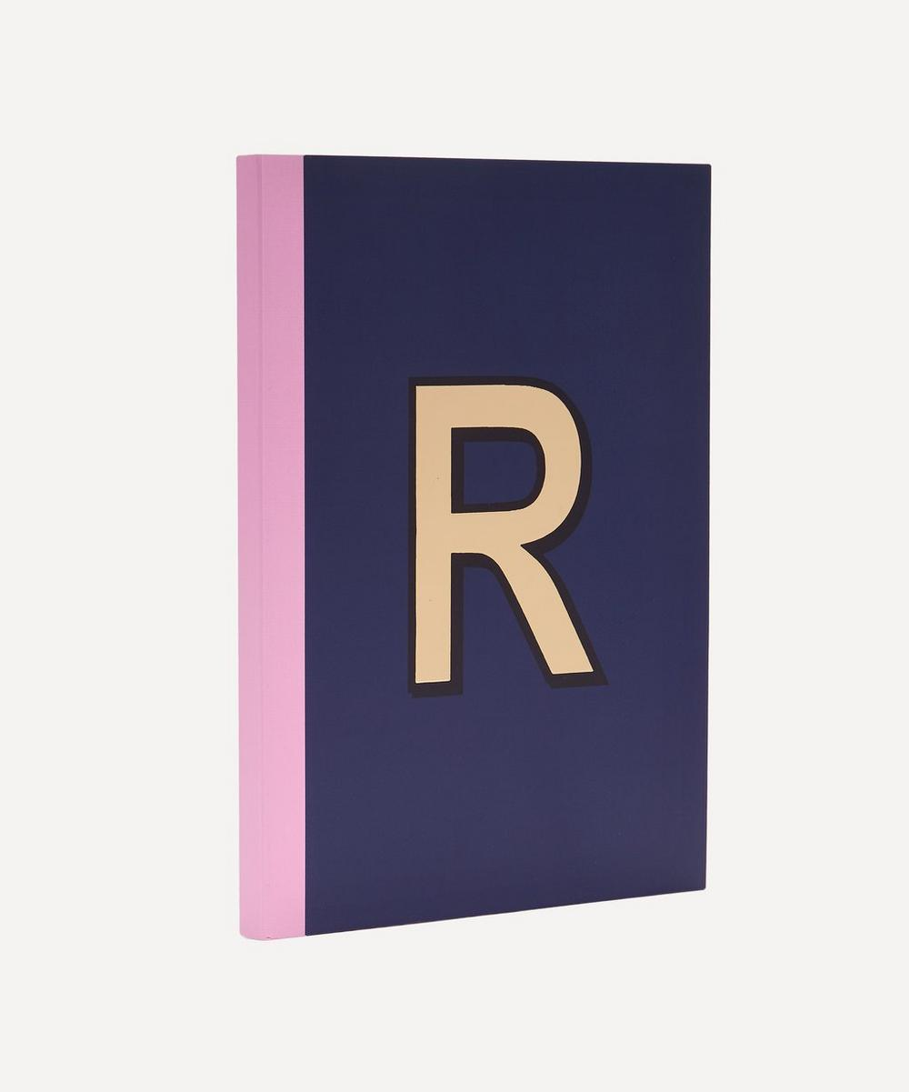 Letter 'R' A5 Notebook