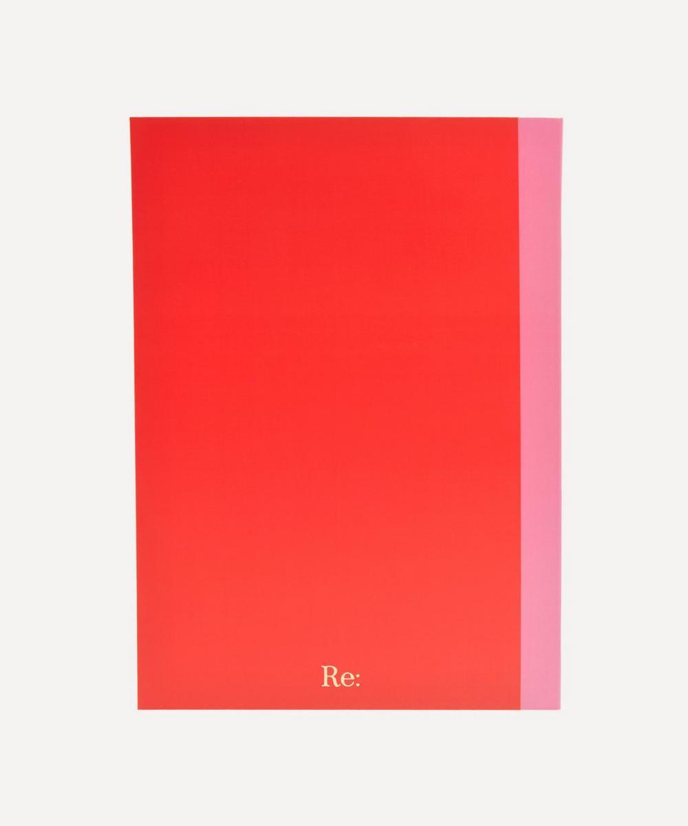 Letter 'U' A5 Notebook
