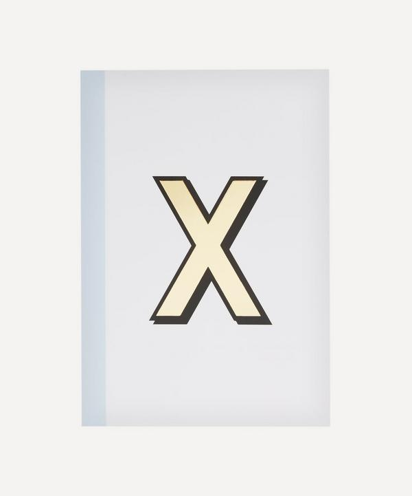 Re: Stationery - Letter 'X' A5 Notebook