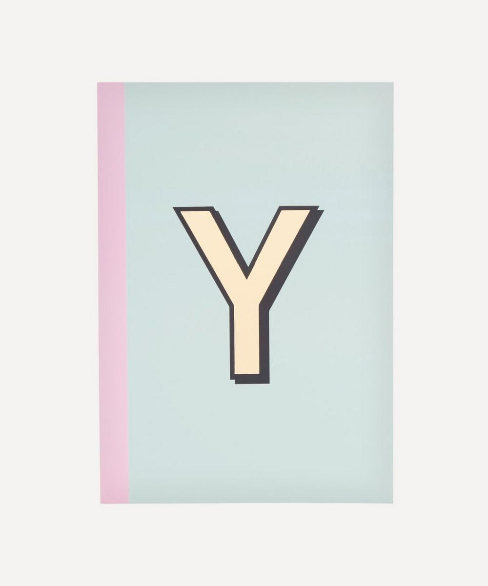 Letter 'Y' A5 Notebook
