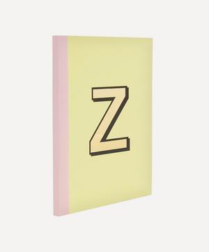 Letter 'Z' A5 Notebook