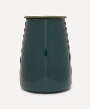 Enamelware Utensil Pot