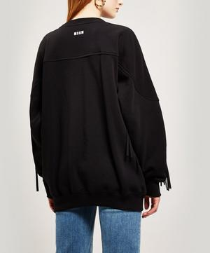 Fringe Detailed Sweatshirt