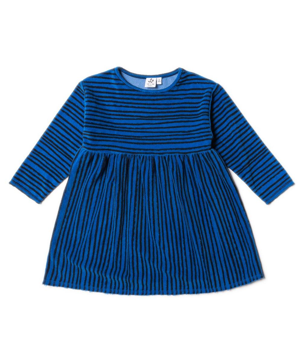 Terry Stripe Dress 2-8 Years