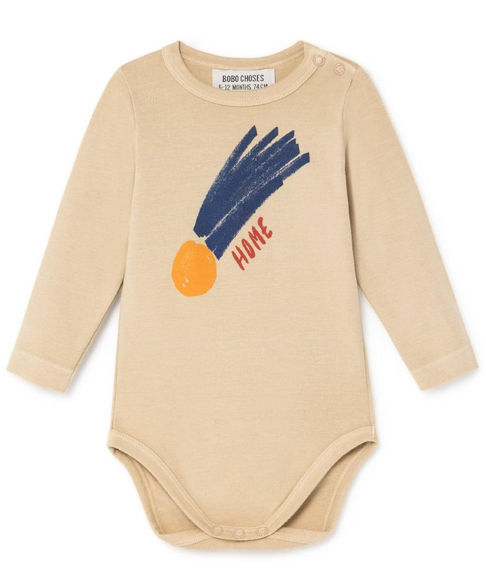 All-Over Small Saturn Long-Sleeved Body 3-24 Months