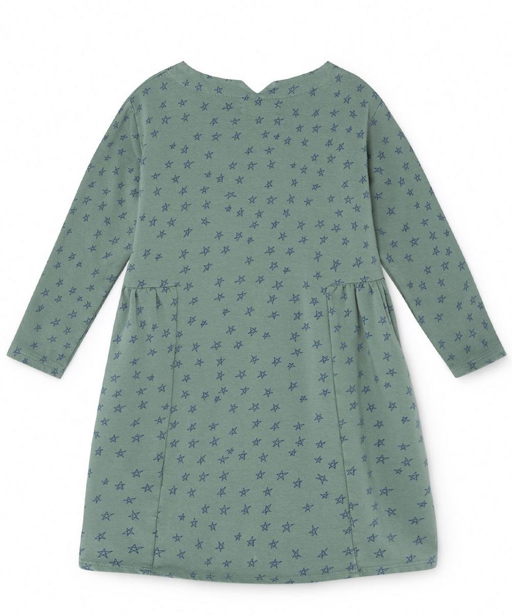 All Over Stars Fleece Dress 2-8 Years