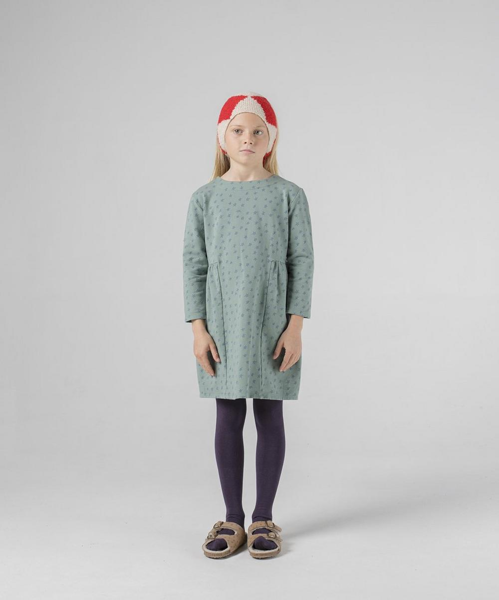 All Over Stars Fleece Dress 2-8 Years