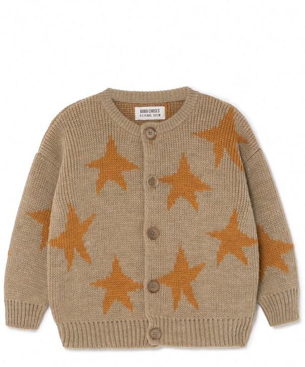 Jacquard Stars Cardigan 2-8 Years