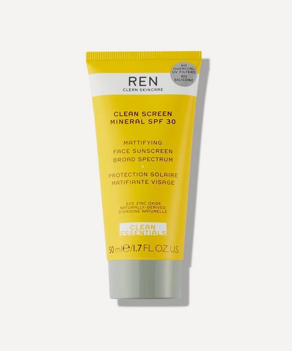 REN Clean Skincare - Clean Screen Mineral SPF 30 50ml