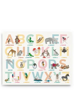 Alphabet of Emotions A3 Print