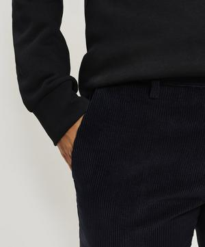 Corduroy Cotton-Blend Tailored Trousers