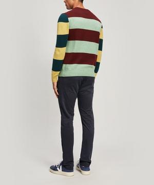 Stripe Lambswool Sweater