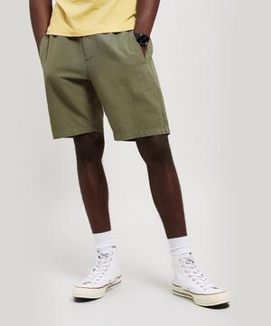 Cotton-Linen Shorts