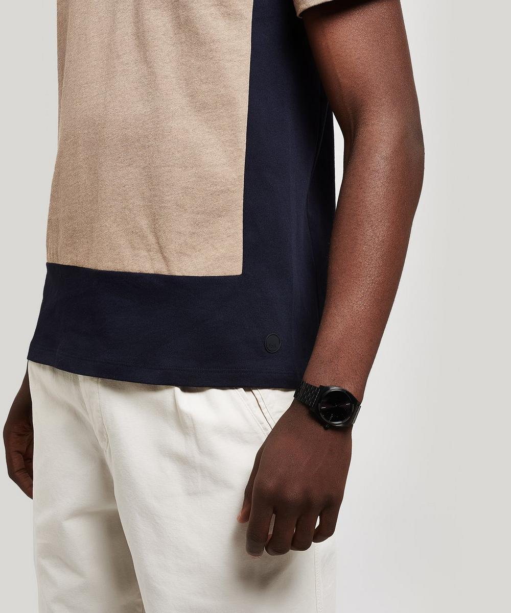 Block Cotton T-Shirt