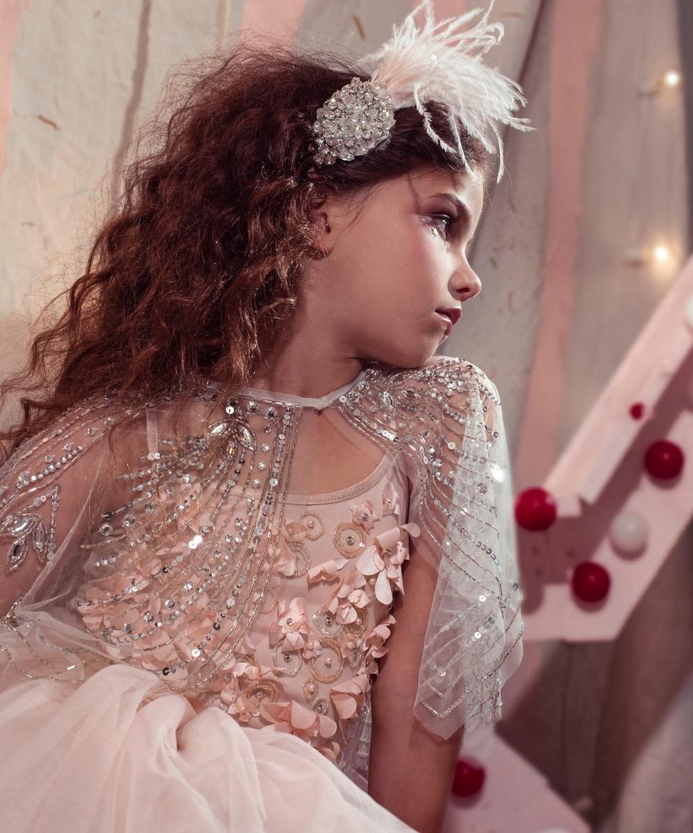Shimmering Petals Tutu Dress 2-8 Years