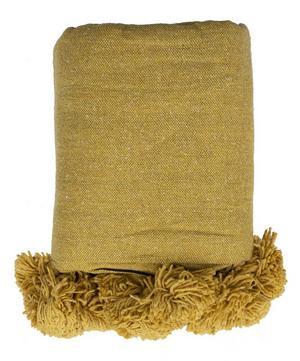 Cotton Pom Pom Blanket