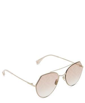 Eyeline Logo Aviator Sunglasses