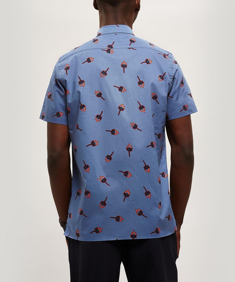 Thistle Print Short Sleeve Shirt